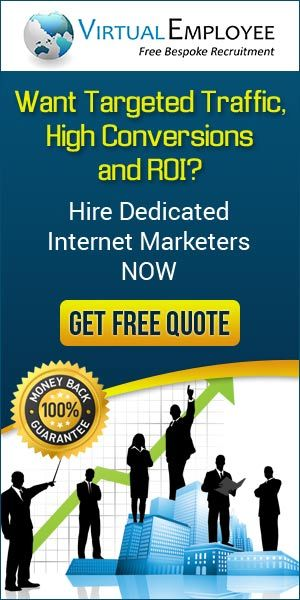 Want targeted traffic, high conversions and ROI? Hire dedicated internet marketers now.