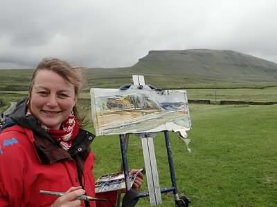 Kate Bentley lake district art tutor