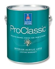 Cabinet Paint: In Pure White Or Snowbound ProClassic® Interior Acrylic Latex  Enamel