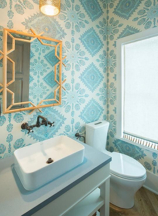 Cute Gold Teal And White Wallpaper Room Designs