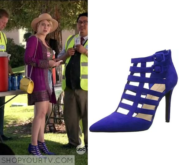 Kevin From Work: Season 1 Episode 8 Roxie's Blue Cage Heels