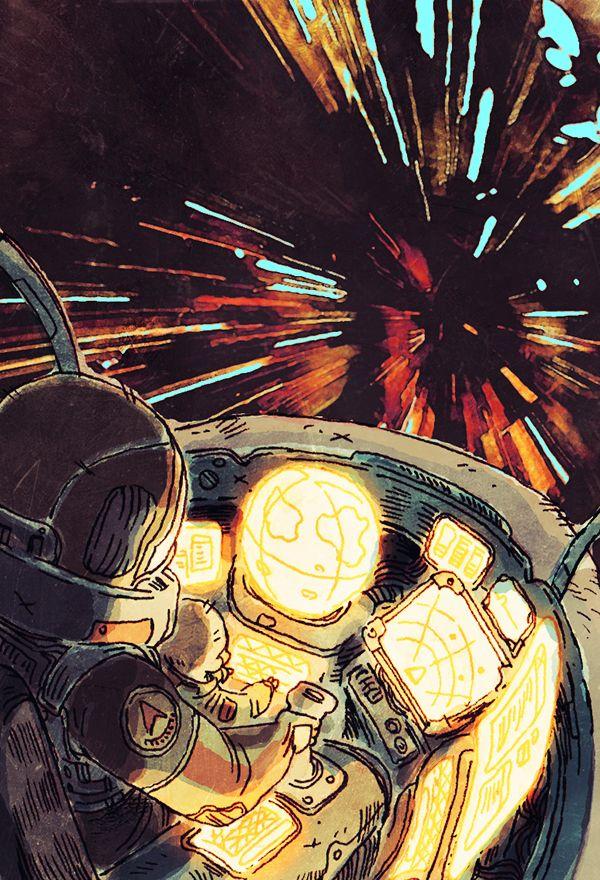 blackyjunkgallery: Space quest!