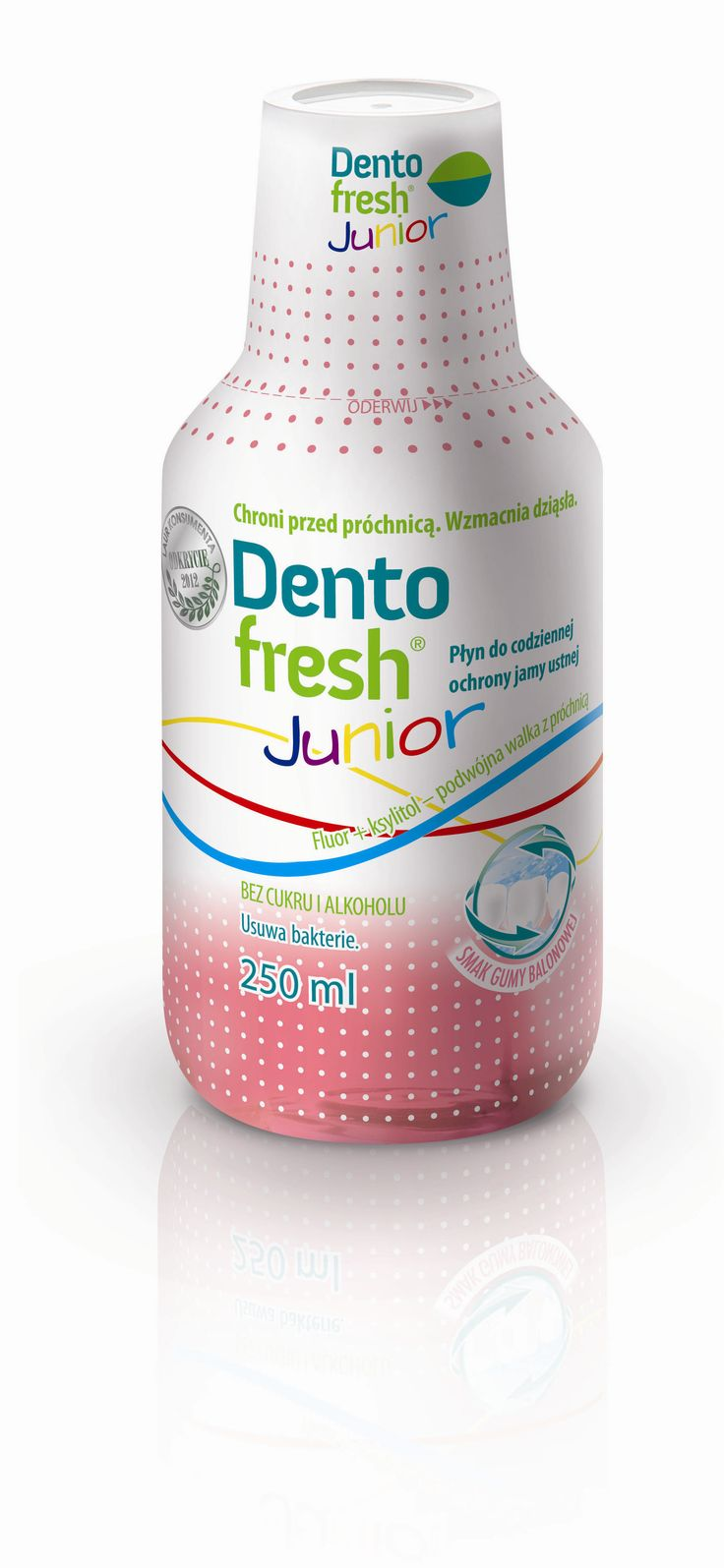 Nowość o smaku balonowym! Bez alkoholu, bez cukru! #dentofresh