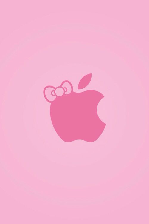 apple logo in pink glitters wallpapers 58 wallpapers