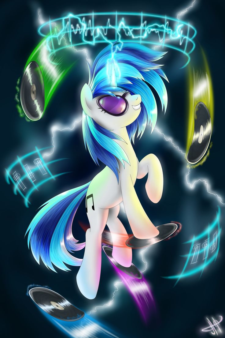 Vinyl Scratch by Jaaaaaaaz.deviantart.com on @deviantART