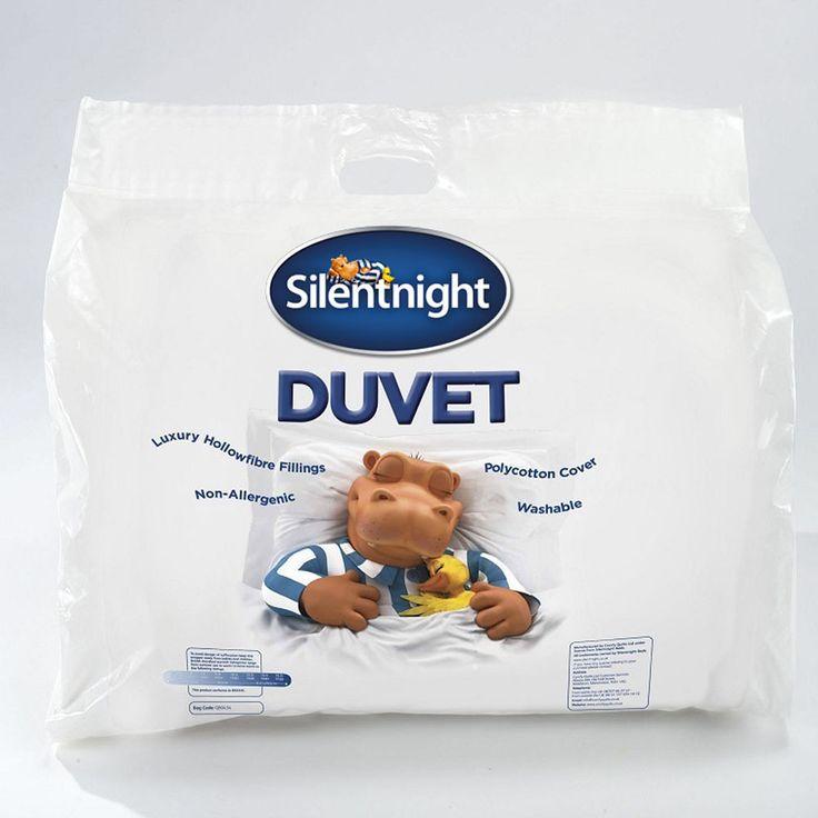 Silentnight 10.5 Tog Hollowfibre Duvet New with defect- Ultra Snug, Soft & Cosy!