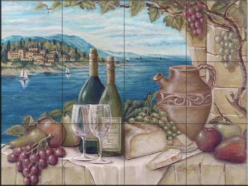 Bella Vista  - Tile Mural *** LOVE***