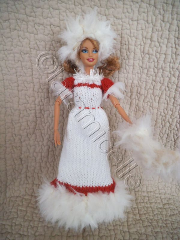 Tuto gratuit barbie robe barbie princesse des neiges - Barbie reine des neiges ...
