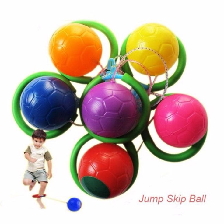 Outdoor Sports Skip Skipper Skipping Rope Spining Ball Swing Ball Fitness Equipment Foot Jump Jumping Balls