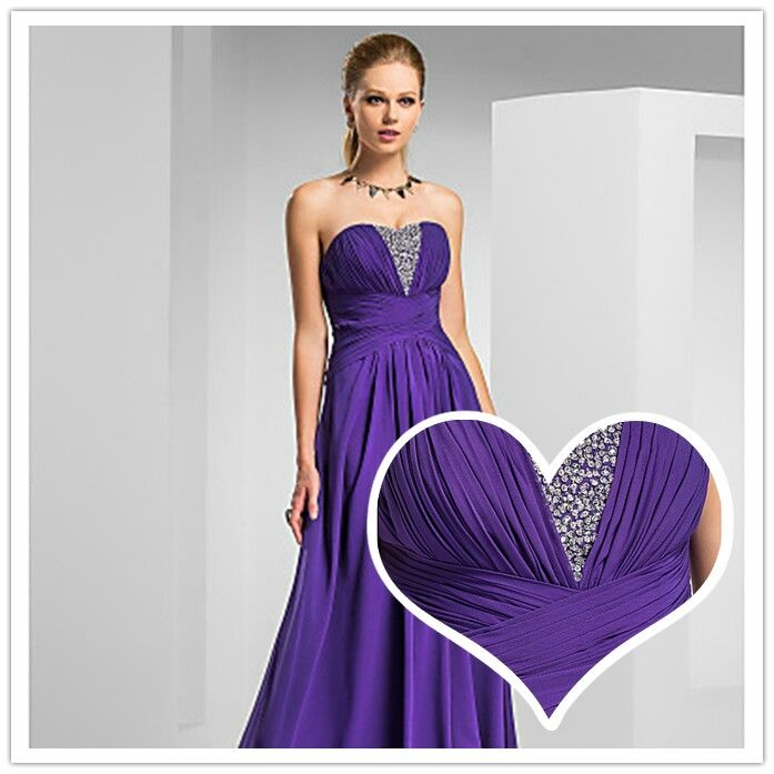 105 best I Love Chiffon Bridesmaids Dresses images on Pinterest ...