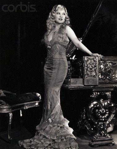 Mae West long hair