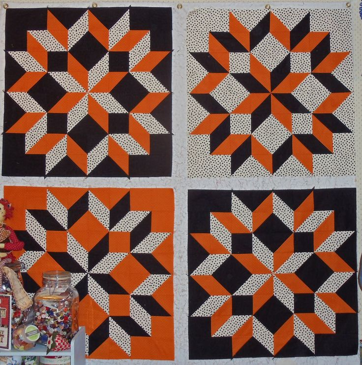 Carpenters Wheel Quilt Block Pattern