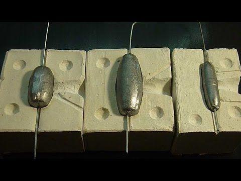 Самодельная форма для отливки грузил.От А до Я. - YouTube