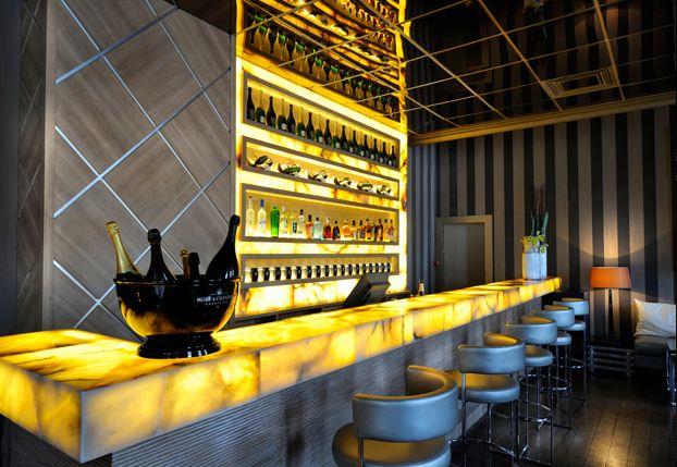 L'Arc Restaurant ,Bar & Nightclub in Paris, France quite Chic!