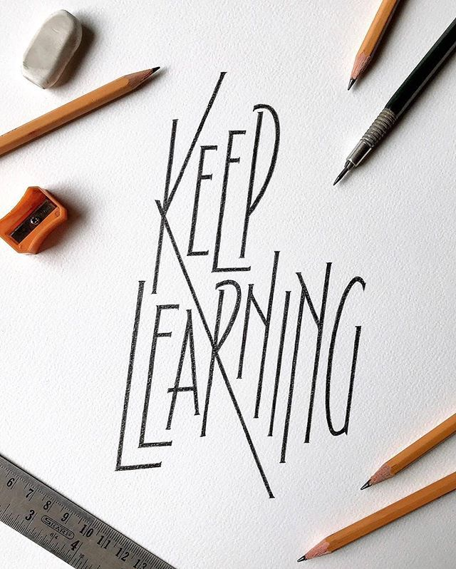 Learn The Art Of Hand Lettering And Calligraphy | Lettering Daily