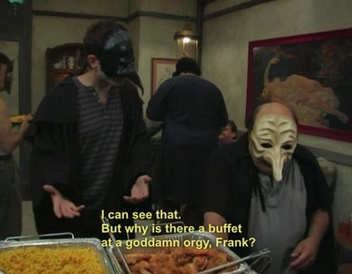 Frank and dennis orgy always sunny