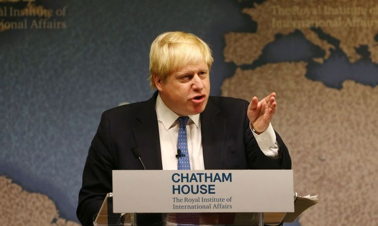 Boris Johnson makes 'save African elephant' plea. UK foreign secretary who backs ban on ivory trade breaks off London speech to make plea for magnificent vulnerable animal. Says he' s obsessed with the tragic fate of the African elephant.