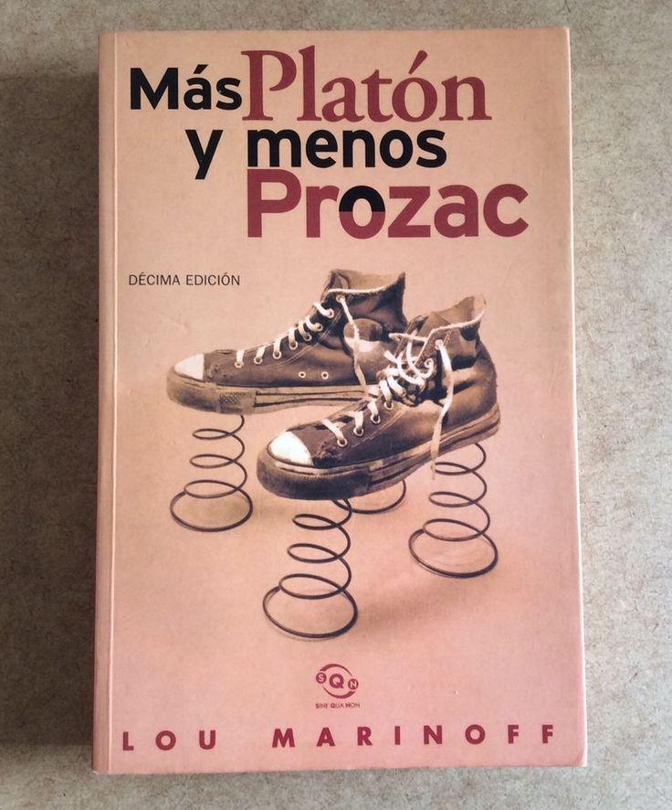 MÁS PLATÓN Y MENOS PROZAC Spanish Book Lou Marinoff ISBN 8440696841 Filosofía