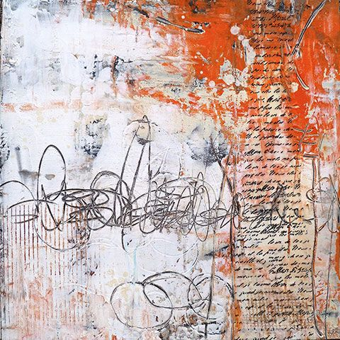 ✍ Sensual Calligraphy Scripts ✍ initials, typography styles and calligraphic art - Fanning the Flames Jacqui Fehl