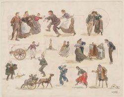 Rembrandtfeesten 1906, feestgangers