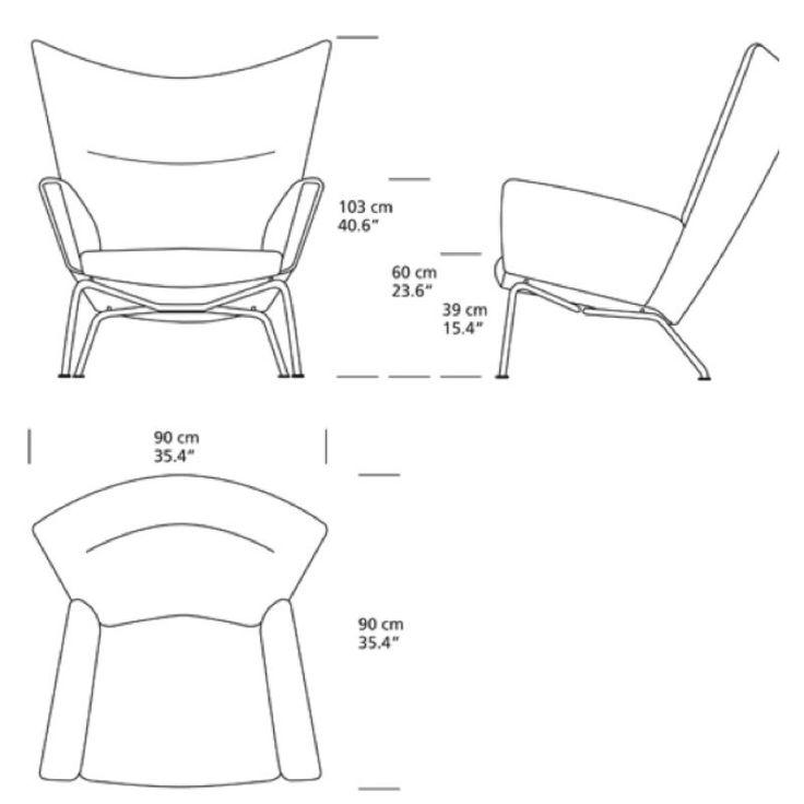 chair measurements - Google Search