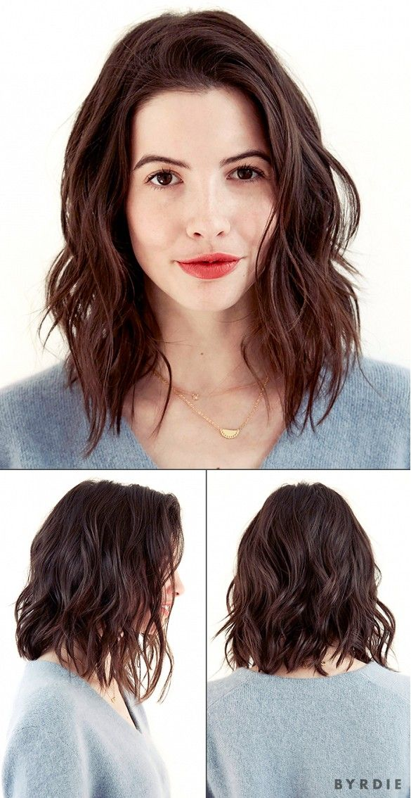 Superb 1000 Ideas About Wavy Lob Haircut On Pinterest Wavy Lob Lob Short Hairstyles Gunalazisus