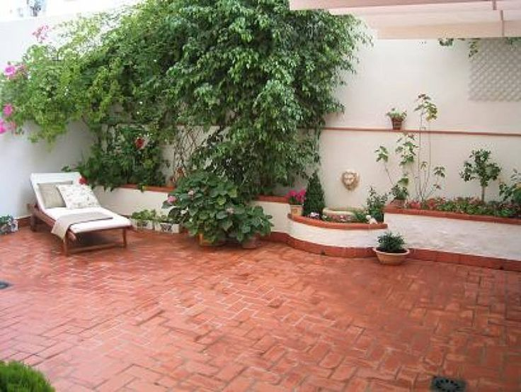 Decoraci n de patios exteriores google search jardin for Piedras para patios exteriores