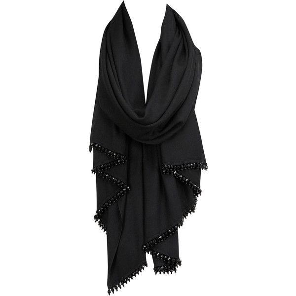 Coast Theresa Short Tassel Wrap ($56) ❤ liked on Polyvore