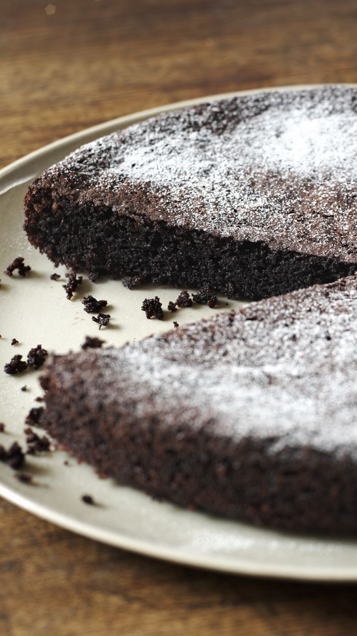 Dark, dense, chocolatey, gluten-free and dairy-free. What more could you want?