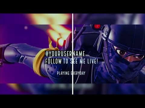 Free To Use Fortnite Banner Youtube Channel Art In 2019 Youtube