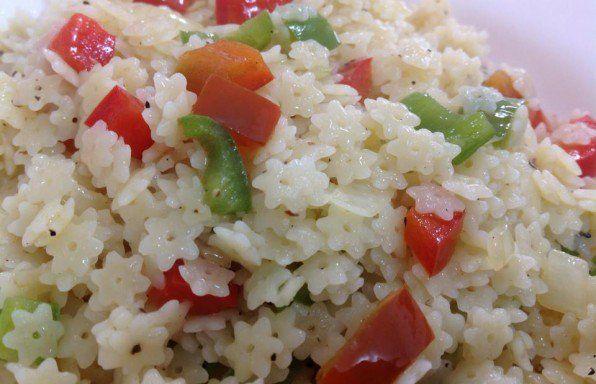 Spicy ptitim salad