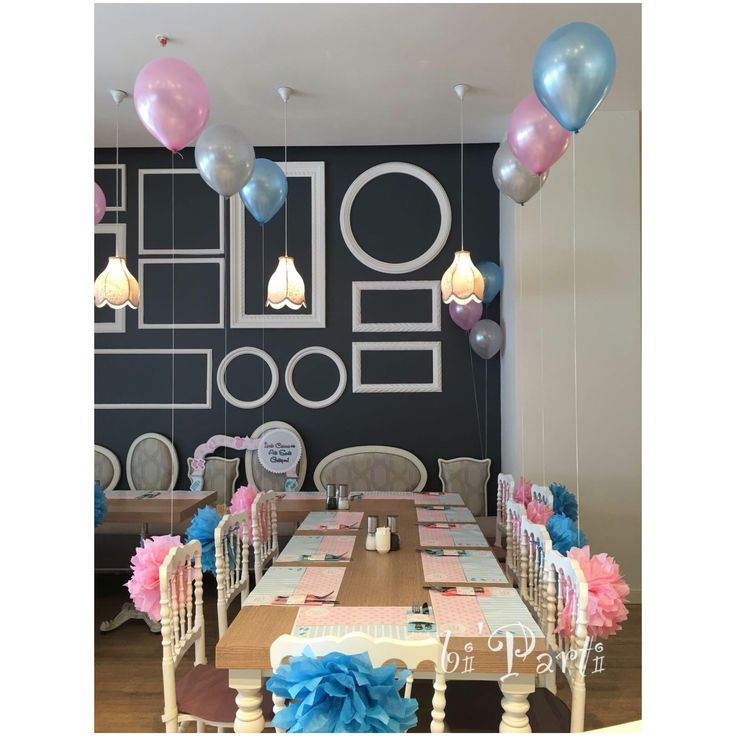 Baby shower. Baby shower party ideas. Pink blue theme. Twins party. Baby shower süsleme. Bebek geliyor partisi.
