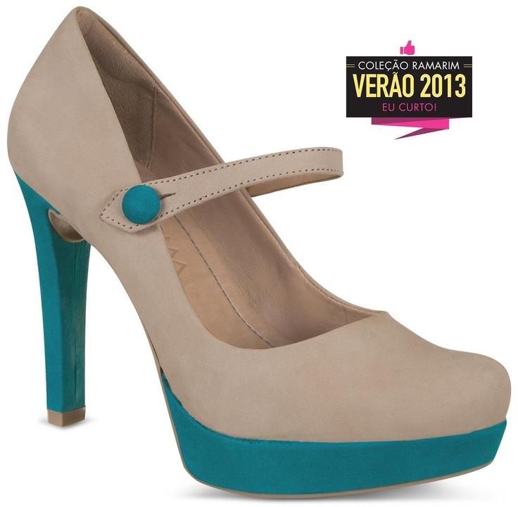 Sapato da nova coleção Ramarim (Via Facebook  - 3/9/2012)