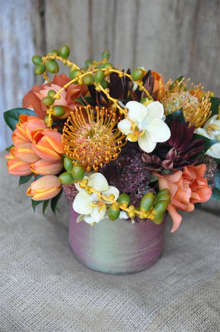 Best small round arrangements images on pinterest