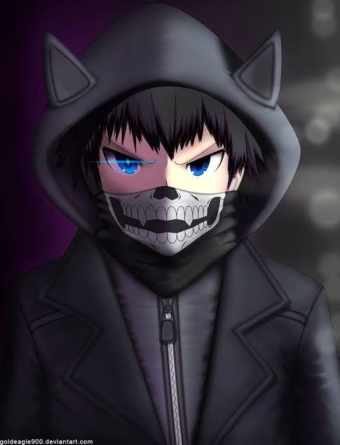 Anime Masker Karakter Animasi Animasi Gambar