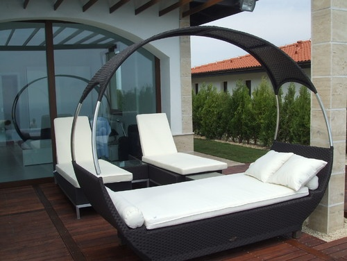 modern patio by Angel Mangarakov: Living Spaces, Outdoor Furniture, Style, Outdoor Living, Design Ideas, Decorating Ideas, Outdoor Beds Ideas 8, Modern Patio, Photo