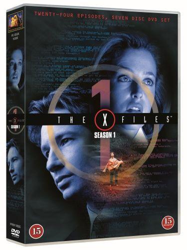 X-files - Kausi 1 (7 disc) (DVD) 11,95 e