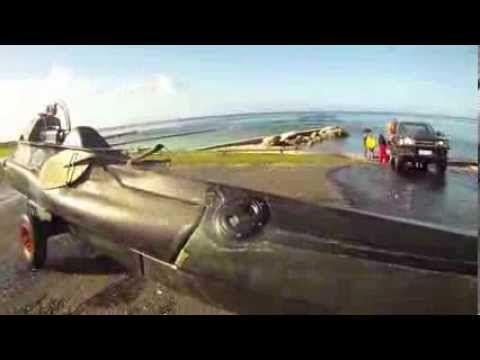 Un Français invente un kayak sous-marin