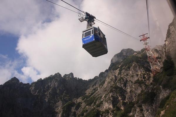 Untersberg Cable-Car near Salzburg, Austria