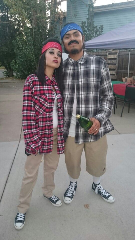 Chola/cholo party   Beauty   Gangster halloween costumes ...