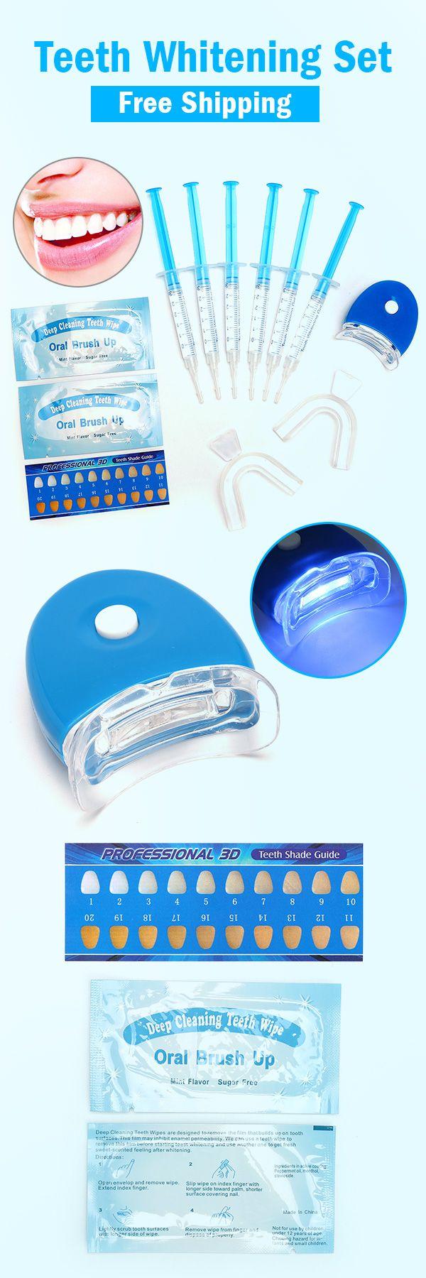 Teeth Whitening Kit Tooth Whitener Bleaching Laser System Oral Gel Dental Care