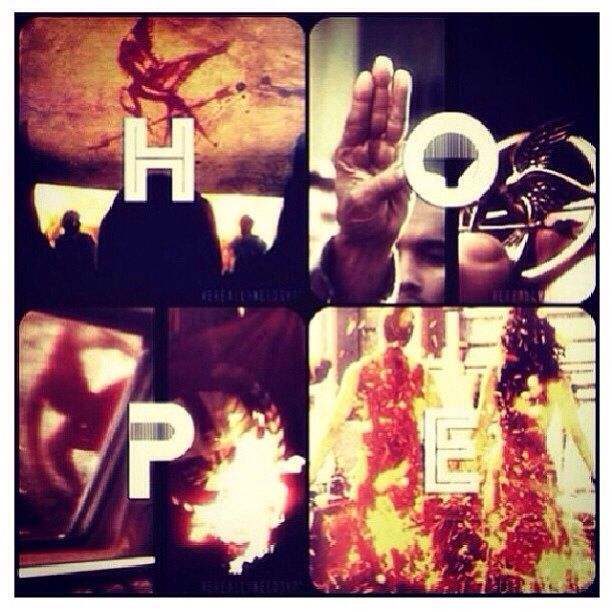 Hope / Catching Fire / hunger Games