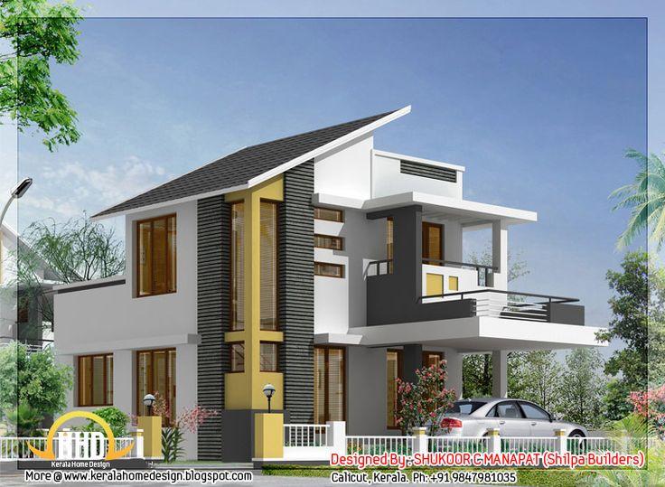 Sq Ft Bedroom House Kerala Home Design Floor Plans Home Online House Plans Estimate Cost Build House Building Plans Wedding Pinterest Front Design Of