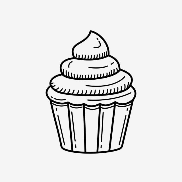 Cupcake Colored Icon Cupcake Icons Softicons Com Cupcake Illustration Cupcake Png Cake Icon