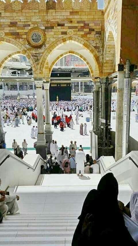 An Extraordinary view of the Haram Shareef at AL-MAKKAH... #umrahpackages2017 #Makkah #houseofAllah #kaaba