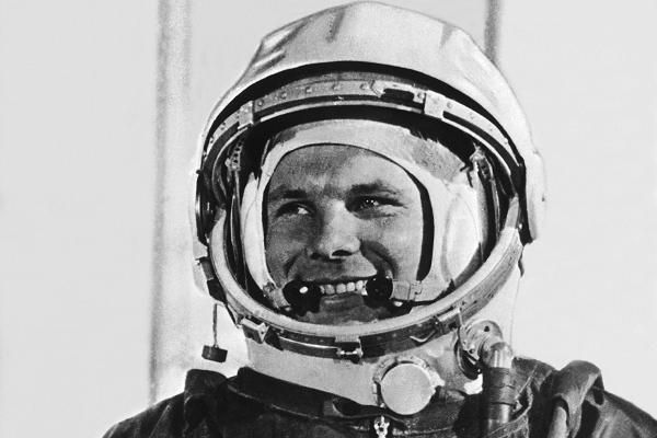 1961: Yuri Gagarin enters space On the 12th April 1961 Soviet cosmonaut Yuri Gagarin became the first human to enter space.