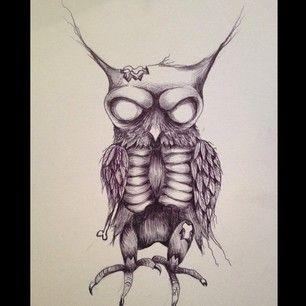 zombie owl - Google zoeken