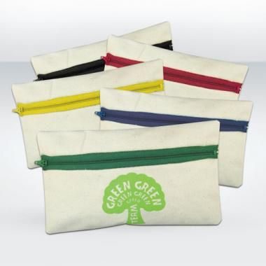 Green & Good Pencil Case Organic Cotton :: Cotton bags :: Promo-Brand :: Promotional Products l Promotional Items l Corporate Branding l Bra...
