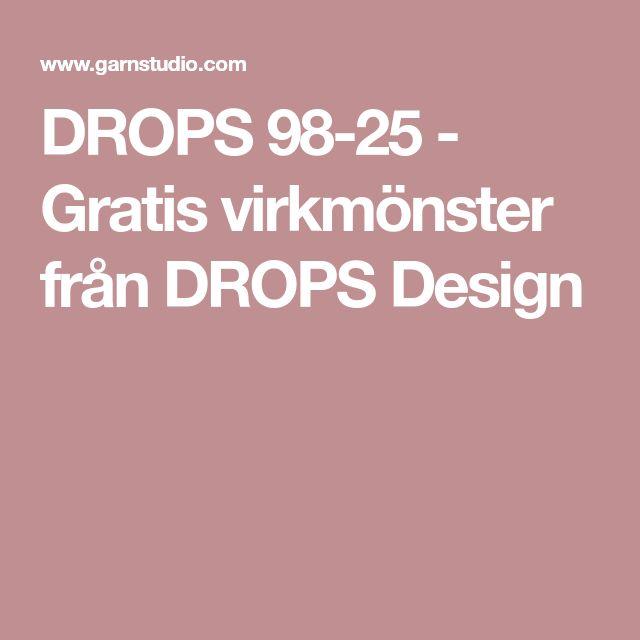 DROPS 98-25 - Gratis virkmönster från DROPS Design