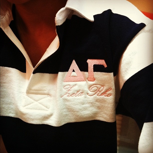 : Alpha Gamma Delta, Phi Mu, Tried Delta Shirts, Kappa Alpha Theta, Chi Omega, Delta Zeta, Part Gamma, T Shirts, Rugby Shirts